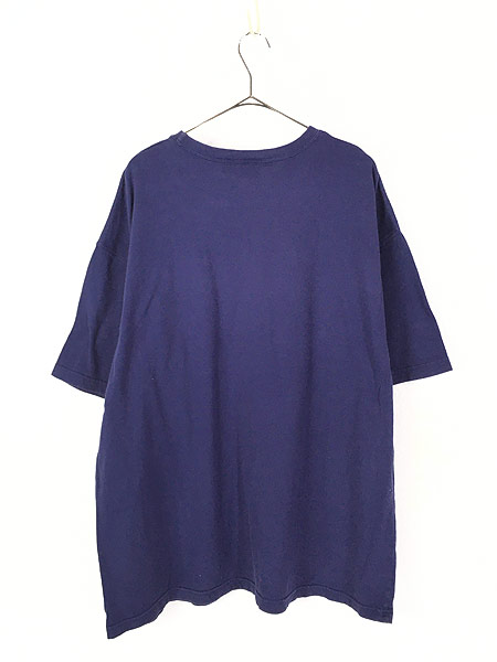 [3] 古着 90s LOONEY TUNES タズ トゥイーティー バッグスバニー キャラクター ポケット Tシャツ ポケT XXL 古着