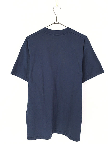 [3] 古着 90s HERSHEY'S チョコレート マスコット シルエット キャラクター Tシャツ L 古着
