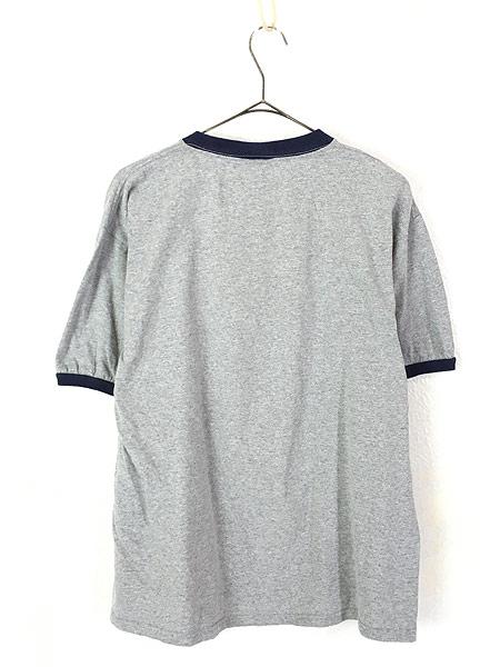 [3] 古着 00s TOM&JERRY トムとジェリー キャラクター リンガー Tシャツ L  古着