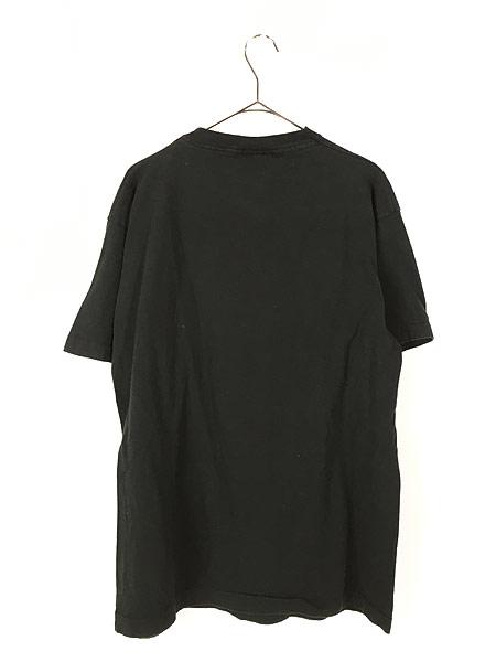 [3] 古着 90s USA製 Disney Mickey ミッキー BIG プリント キャラクター Tシャツ XL位 古着