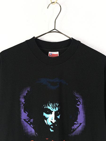 [2] 古着 90s USA製 DC Comics THE SANDMAN サンドマン キャラクター Tシャツ 黒 L 古着