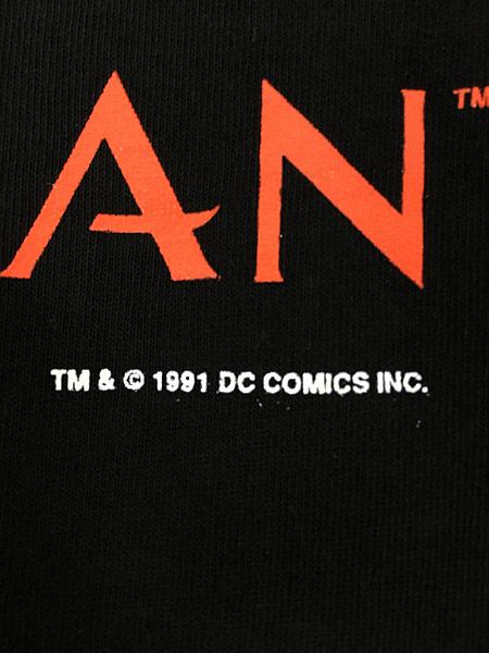 [7] 古着 90s USA製 DC Comics THE SANDMAN サンドマン キャラクター Tシャツ 黒 L 古着