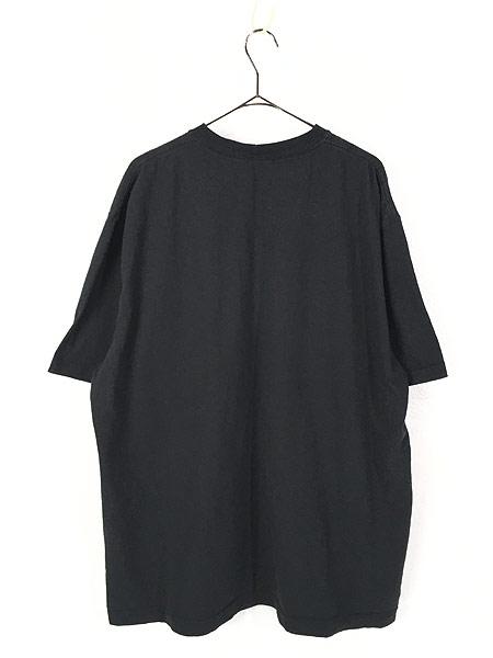 [3] 古着 Carhartt ワンポイント 100%コットン ポケット Tシャツ ポケT 黒 XL 古着
