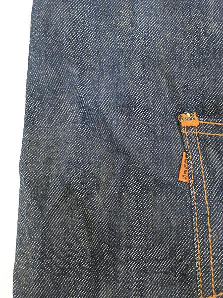 [4] 雑貨 古着 70s USA製 Levi's リーバイス 濃紺 デニム ハンド バッグ 中型 雑貨 古着