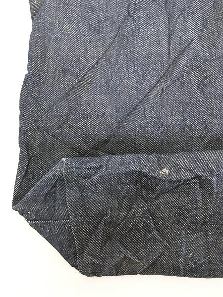 [7] 雑貨 古着 70s USA製 Levi's リーバイス 濃紺 デニム ハンド バッグ 中型 雑貨 古着