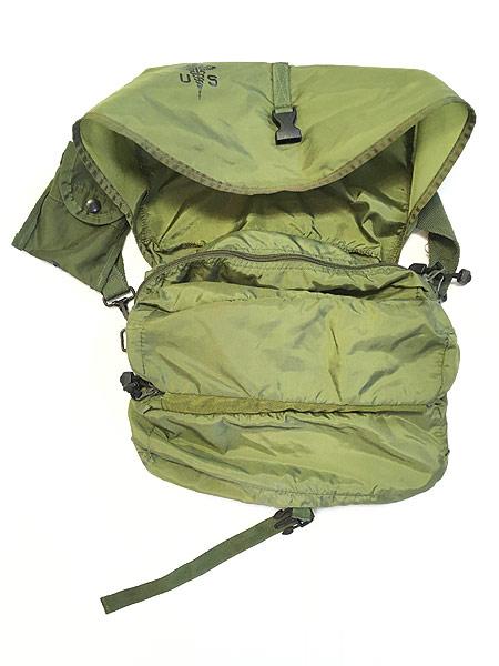 [3] 雑貨 古着 00s 米軍 US ARMY Medical Corps メディカル ミリタリー ナイロン ショルダー バッグ 中型 古着