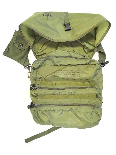 [4] 雑貨 古着 00s 米軍 US ARMY Medical Corps メディカル ミリタリー ナイロン ショルダー バッグ 中型 古着