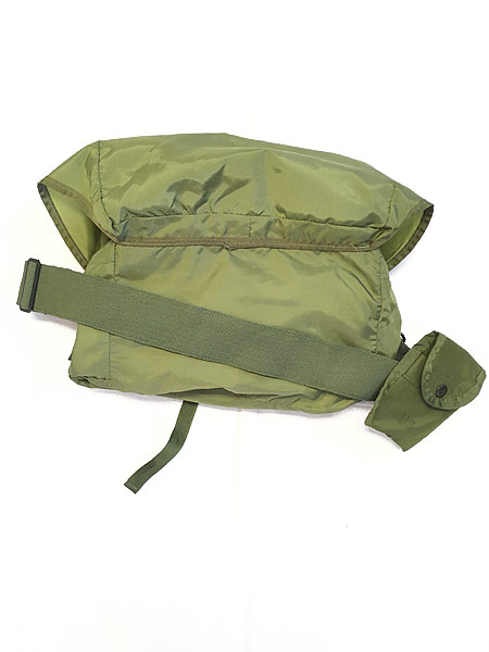 [7] 雑貨 古着 00s 米軍 US ARMY Medical Corps メディカル ミリタリー ナイロン ショルダー バッグ 中型 古着
