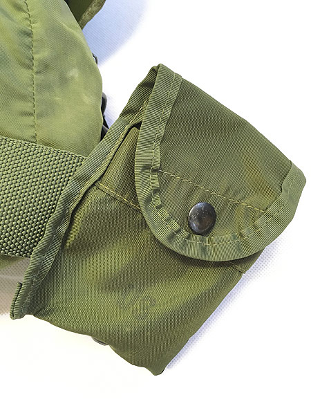 [8] 雑貨 古着 00s 米軍 US ARMY Medical Corps メディカル ミリタリー ナイロン ショルダー バッグ 中型 古着