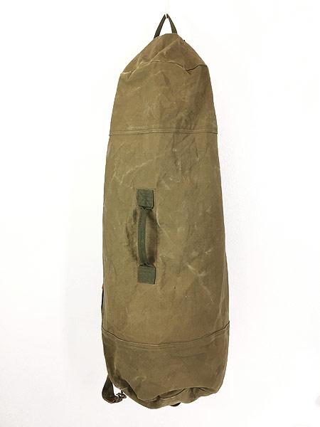[1] 雑貨 古着 70-80s CONDOR コンドル キャンバス ショルダー ダッフル バック 超大型 古着