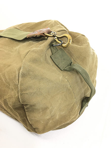 [4] 雑貨 古着 70-80s CONDOR コンドル キャンバス ショルダー ダッフル バック 超大型 古着