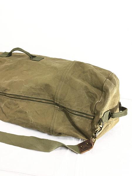 [5] 雑貨 古着 70-80s CONDOR コンドル キャンバス ショルダー ダッフル バック 超大型 古着