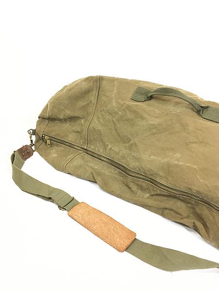 [6] 雑貨 古着 70-80s CONDOR コンドル キャンバス ショルダー ダッフル バック 超大型 古着
