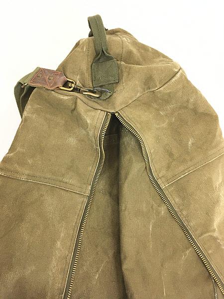 [7] 雑貨 古着 70-80s CONDOR コンドル キャンバス ショルダー ダッフル バック 超大型 古着