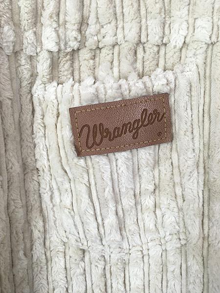 [5] 古着 60s Canada製 Wrangler 斜めベル パイル × コーデュロイ パンツ ブーツカット W30 L29 古着