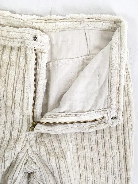 [7] 古着 60s Canada製 Wrangler 斜めベル パイル × コーデュロイ パンツ ブーツカット W30 L29 古着