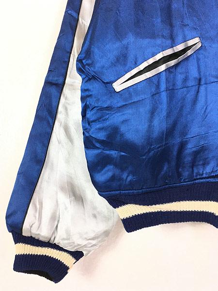 [4] 古着 50s 「Japan」 38'LINE 富士山 イーグル サテン スーベニア ジャケット スカジャン L位 美品!! 古着