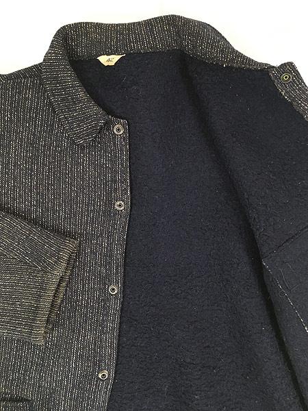 [5] 古着 50s Brown's Beach Jacket レア ネイビー ごま塩 ウール ビーチ ジャケット 42 美品!! 古着