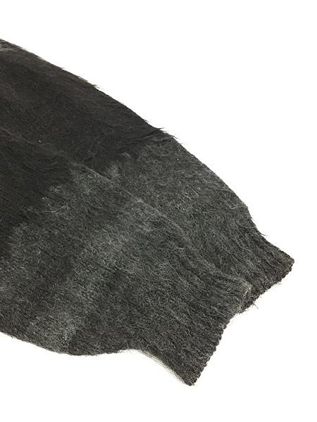 [4] 古着 80s ボリビア製 Rey Wear ノルディック柄 100% アルパカ ウール ニット カーディガン XL位 古着