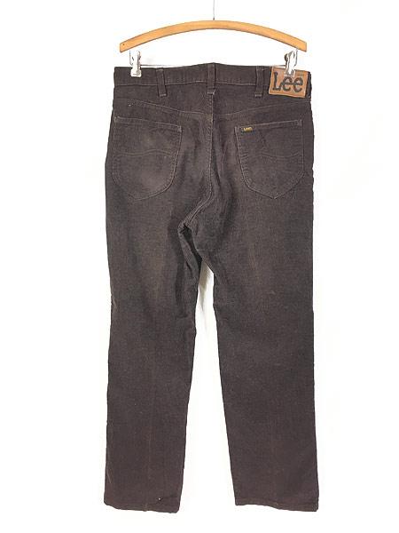 [3] 古着 70s USA製 Lee 200 コーデュロイ パンツ コーズ スリムストレート W33 L29 美品!! 古着