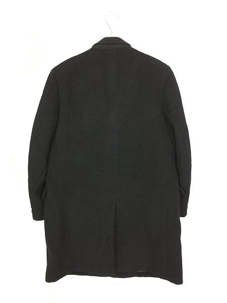 [4] 古着 60s USA製 LOUIS LEVY 豪華 100%カシミア チェスター バルマカーン コート 黒!! 38位 美品!! 古着