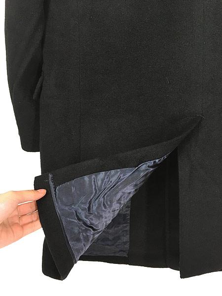 [5] 古着 60s USA製 LOUIS LEVY 豪華 100%カシミア チェスター バルマカーン コート 黒!! 38位 美品!! 古着