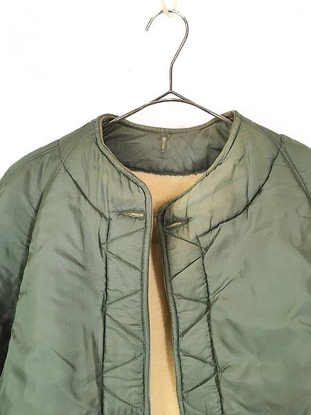 [2] 古着 60s 米軍 US AIR FORCE 「4889」 ミリタリー ウール ボア フィールド ライナー ジャケット M-R 古着