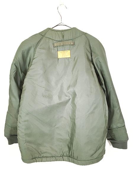 [4] 古着 60s 米軍 US AIR FORCE 「4889」 ミリタリー ウール ボア フィールド ライナー ジャケット M-R 古着