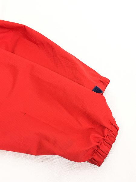 [4] 古着 93s USA製 Patagonia スナップ 軽量 リップストップ シェル アノラック パーカー ジャケット パッカブル L 古着