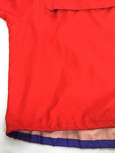[5] 古着 93s USA製 Patagonia スナップ 軽量 リップストップ シェル アノラック パーカー ジャケット パッカブル L 古着