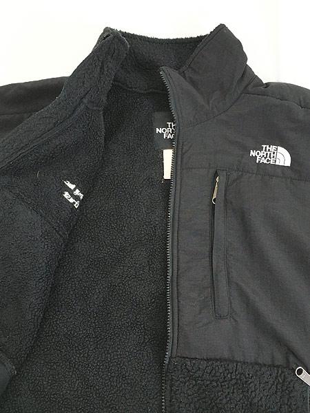 [5] 古着 90s TNF The North Face ノース もこもこ デナリ フリース ジャケット オールブラック L 古着