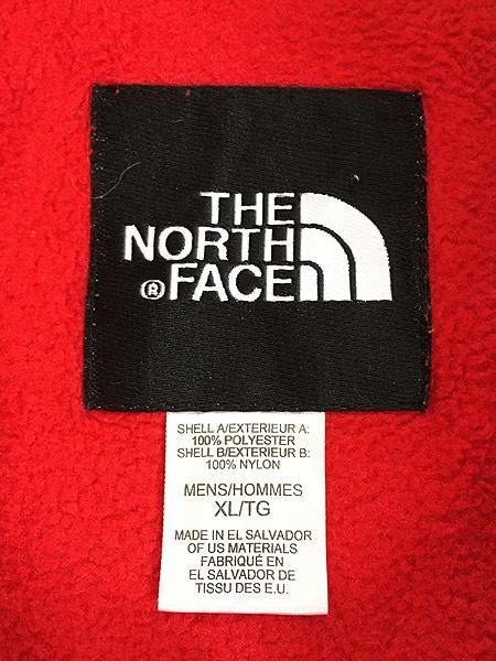 [6] 古着 90s TNF The North Face ノース 高機能 POLARTEC デナリ フリース ジャケット 赤 XL 古着