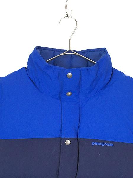 [2] 古着 13s Patagonia パタゴニア 「Bivy Down Vest」 バイカラー  ビビー グース ダウン ベスト CNY M 古着