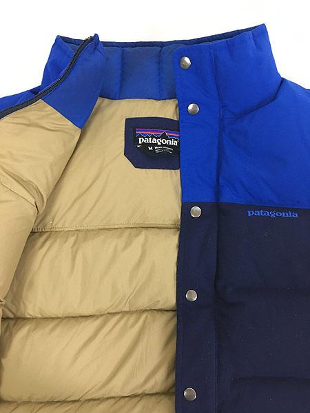 [4] 古着 13s Patagonia パタゴニア 「Bivy Down Vest」 バイカラー  ビビー グース ダウン ベスト CNY M 古着