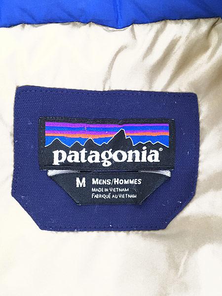 [5] 古着 13s Patagonia パタゴニア 「Bivy Down Vest」 バイカラー  ビビー グース ダウン ベスト CNY M 古着