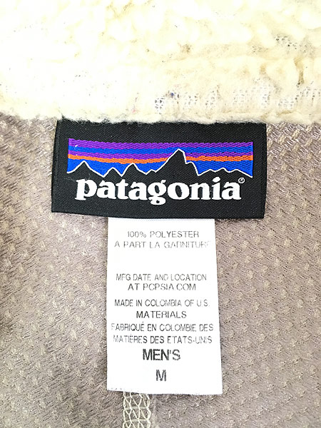 [6] 古着 14s Patagonia パタゴニア 人気 クラシック レトロX もこもこ フリース ジャケット NJVB M 古着