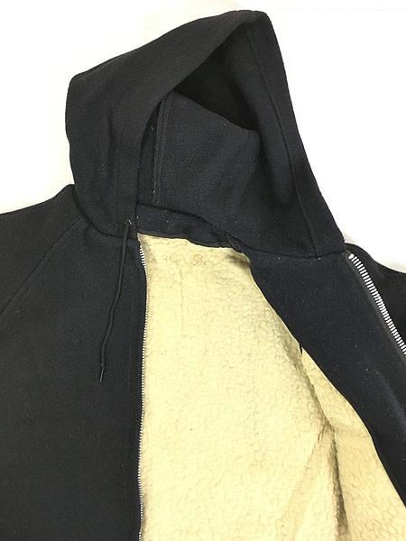 [5] 古着 60-70s 人気 カデット タイプ メルトン ウール フーデッド コート ライナー付!! 38位 古着