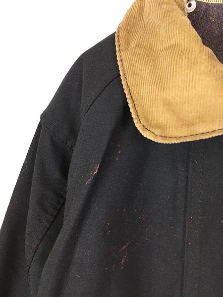 [3] 古着 80s USA製 FYREPEL リフレクター デザイン アラミド ファイヤーマン コート ライナー完備!! M 古着