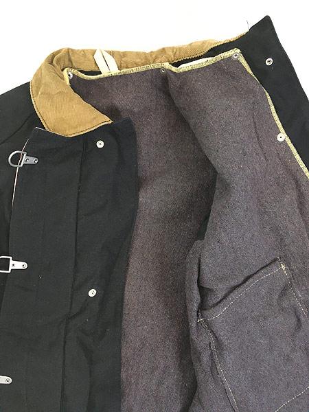 [7] 古着 80s USA製 FYREPEL リフレクター デザイン アラミド ファイヤーマン コート ライナー完備!! M 古着