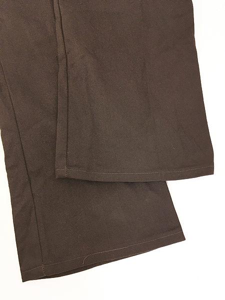 [5] 「Deadstock」 古着 70s USA製 Dickies コットンツイル ワーク パンツ 貴重 ブーツカット!! W33 L28 古着