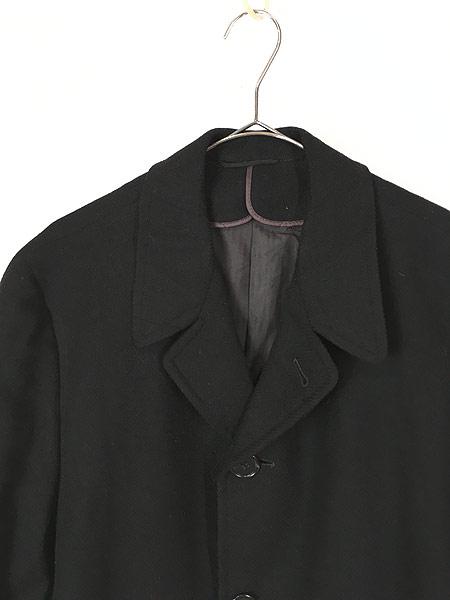 [2] 古着 60s J&F × Strouss Hirshberg's ヘリンボーン織 ウール チェスター バルマカーン コート 40位 美品!! 古着