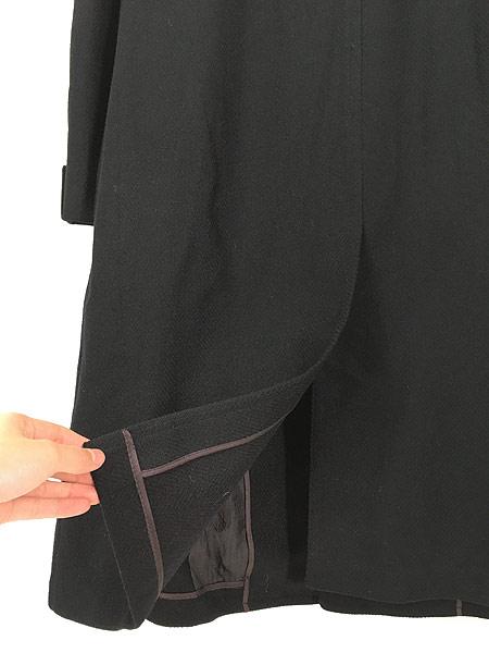[4] 古着 60s J&F × Strouss Hirshberg's ヘリンボーン織 ウール チェスター バルマカーン コート 40位 美品!! 古着