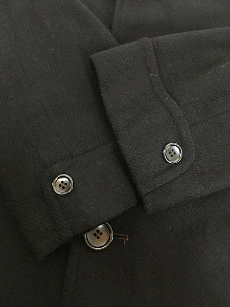 [6] 古着 60s J&F × Strouss Hirshberg's ヘリンボーン織 ウール チェスター バルマカーン コート 40位 美品!! 古着