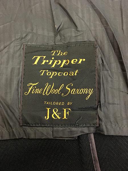 [9] 古着 60s J&F × Strouss Hirshberg's ヘリンボーン織 ウール チェスター バルマカーン コート 40位 美品!! 古着