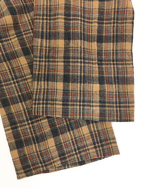 [5] 古着 70s USA製 Pendleton クラシック チェック ウール スラックス パンツ ストレート W32 L30 ブランド 古着