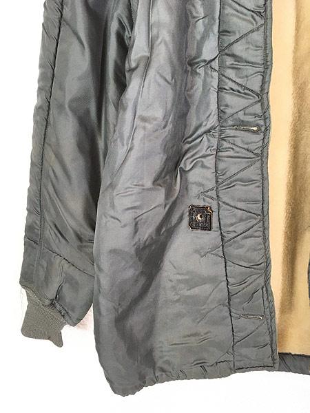 [3] 古着 50s 米軍 USAF 黒タグ 「4889(USAF)」 ミリタリー ウール ボア フィールド ライナー ジャケット M-R 古着