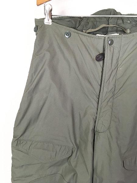 [2] 古着 80s 米軍 USAF F-1B 防寒 ヘビーゾーン フライング オーバー パンツ 30 美品!! 古着