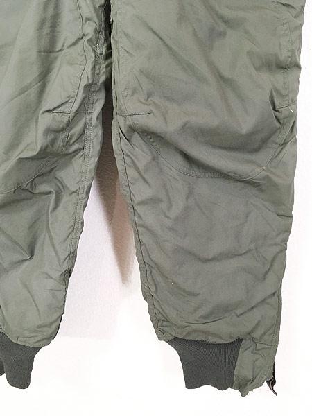 [3] 古着 80s 米軍 USAF F-1B 防寒 ヘビーゾーン フライング オーバー パンツ 30 美品!! 古着