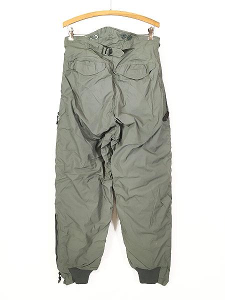 [4] 古着 80s 米軍 USAF F-1B 防寒 ヘビーゾーン フライング オーバー パンツ 30 美品!! 古着