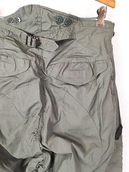 [5] 古着 80s 米軍 USAF F-1B 防寒 ヘビーゾーン フライング オーバー パンツ 30 美品!! 古着